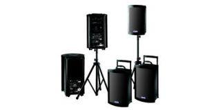 Pack sonorisation 2 enceintes + 2 micros HF main
