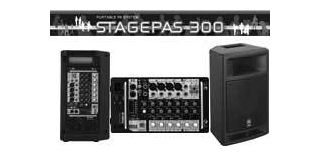 Pack Yamaha Stagepas 300