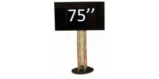 Pied Totem Pont 300 pour ecran plasma 75